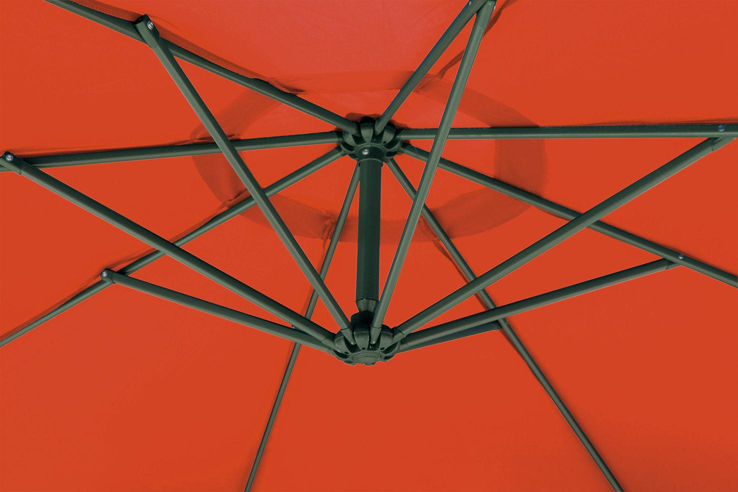 ampelschirm gartenschirm sonnenschirm 300 cm t v gs gepr ft uv 80 terrakotta ebay. Black Bedroom Furniture Sets. Home Design Ideas